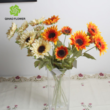 small sunflowers supply for wholesaler artificial flower in bangkok