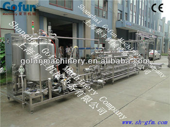 High Quality Fruit Uht Sterilizer system for fruit juice & paste