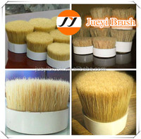 natural white boiled pig bristles pig hair 90% 60% tops 38-160mm for high quality paint ,Animal hair