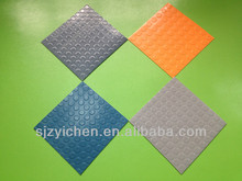Yichen pvc garage flooring/ pvc cute car floor mats/vinyl flooring roll In Stock