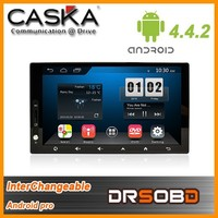 2015 CASKA ca712 Android pro Solution 4.4.2 inchs universal android car dvd player interchangeable made in China
