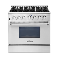 "Thorkitchen home appliance 36"" gas baking oven,CSA approval"