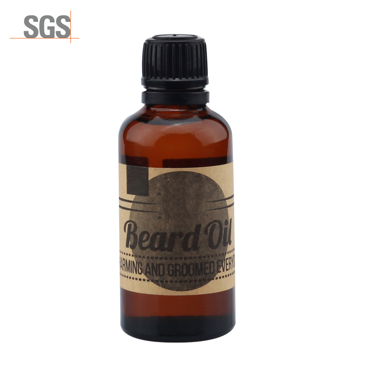 OEM/ODM private label Best selling glass bottle packing beard oil