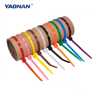 Marker Cable Ties 300mm/ Plastic Tightener/ Wire Strap