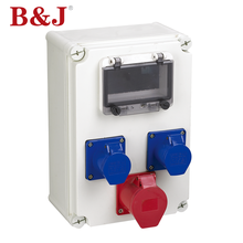 B&J Outdoor Plastic ABS Enclosure Waterproof Electronic Housing Junction Box