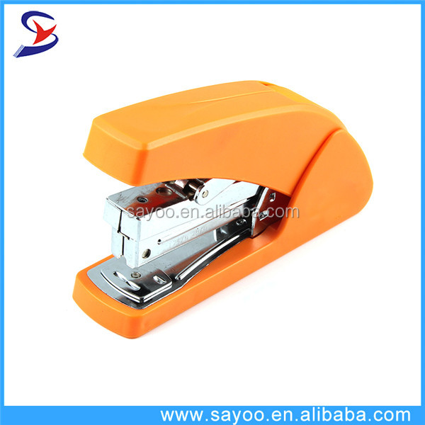 Hot selling plastic office standard stapler