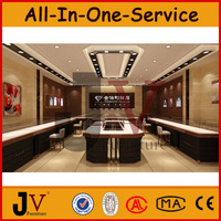 Original Approved UL&CE jewelry shop decoration with jewellery display counter