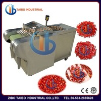 Commercial fruit and vegetable cutter , stainless steel fresh/dry chilli stem cutting machine,red/green chilli slicer