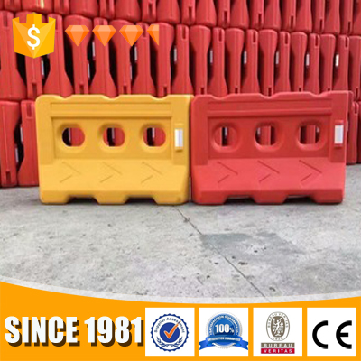 2017 Trustworthy safety water filling plastic barrier spike road block
