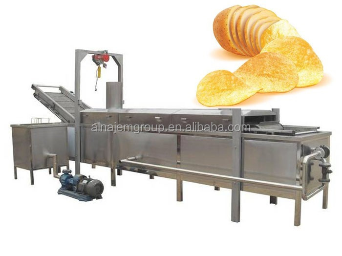Potato chips production line for snack Machine