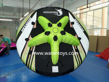 towable & inflatable surfing boat tube,towable flying towable water ski,inflatable water ski