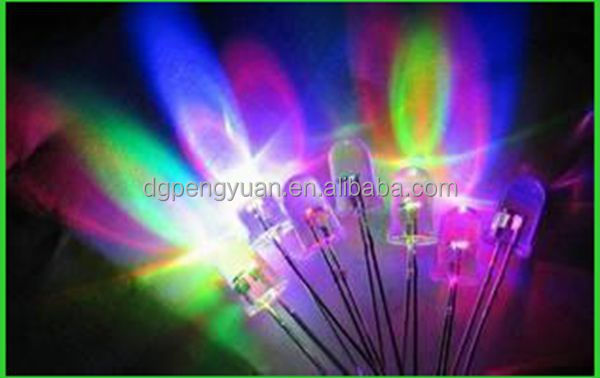 Full color RGB four pin led diode