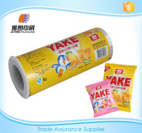 automatic laminating snack plastic film roll