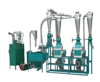 Wheat milling machine and auxiliary equipment