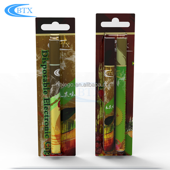 Empty wholesale electronic cigarette 500 puffs colorful disposable vape pen with 1.0ml cartridge