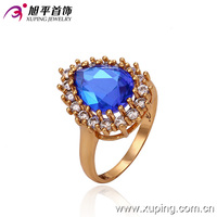 13276- xuping professional supplier of girl's wholesale 1 gram 18 k gold ring