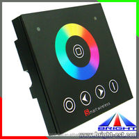 DC12V Hot sell Rainbow led Touch Panel Controller for lamp,smart touch controls