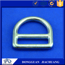 Galvanized steel d ring belt buckle