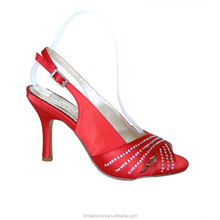 8cm middle perfect heel wedding shoes for brides