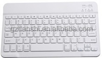 Aluminum bluetooth wireless keyboard for tablet pc