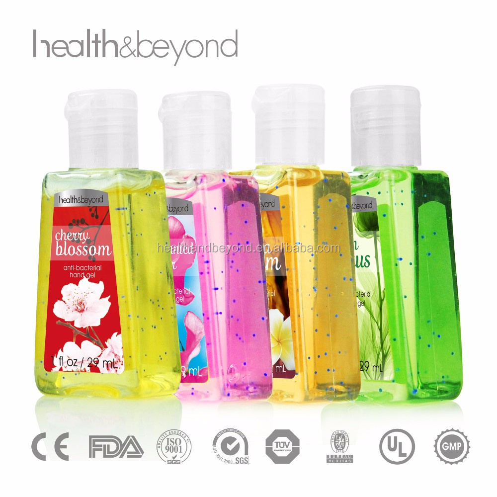 OEM professional mini 29ml Antibacterial Hand Sanitizer bath and body works Moisturising Liquid Hand Wash Hand Cleansing Gel