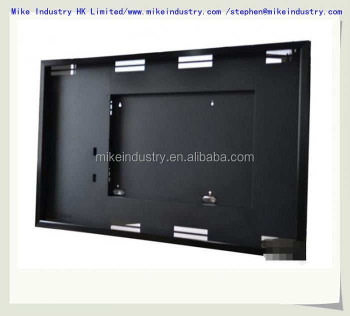 custom fashionable & cheap LCD TV plastic case mould,LED TV back cover plastic parts injection mold