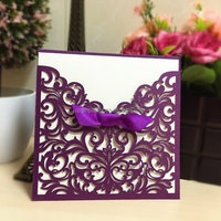 Love Theme and Europe Regional Feature wedding invitations 2014 made in china