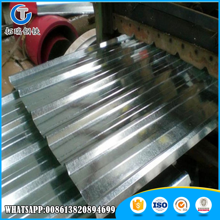 corrugated curved metal zincalume roofing sheet