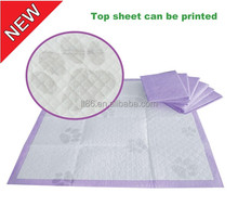 Top level hot selling 23x24 puppy dog training wee pee pads