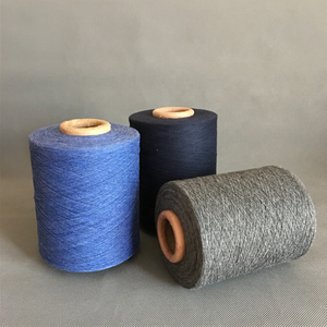 Ne 19s/1Pure cotton yarn air stream polyester/cotton yarn regenerated cotton yarn machine weaves cotton yarn