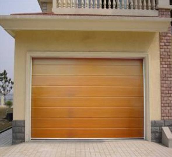 Sectional Garage Door with Hardware wood used garage door design panels sale