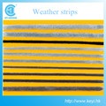 High quality non-silicon/silicification weather strip