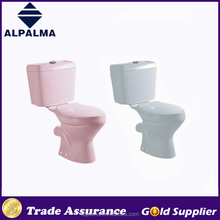 2016 Hottest Colored Ceramic Twyford WC Two Piece Toilet in Foshan