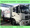 high pressure washing and vacuum road cleaner sweeper truck