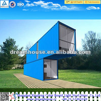 China prefabricated modified 20ft shipping container home/40ft shipping container house for sale