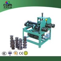 Factory direct sales DWQJ-76 Rolling stainless steel pipe bending machine