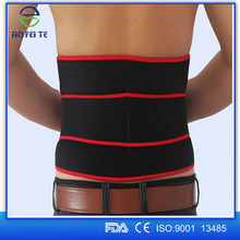 High Quality Lightweight Professional Breathable Compression Waist Lumbar Lower Back Trimmer Support Brace Belt Strap For Men