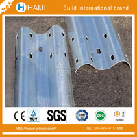 Roadway Construction Steel Hot Dip Galvanized Anti-aging High way traffic barriers from Shandong Guanxian