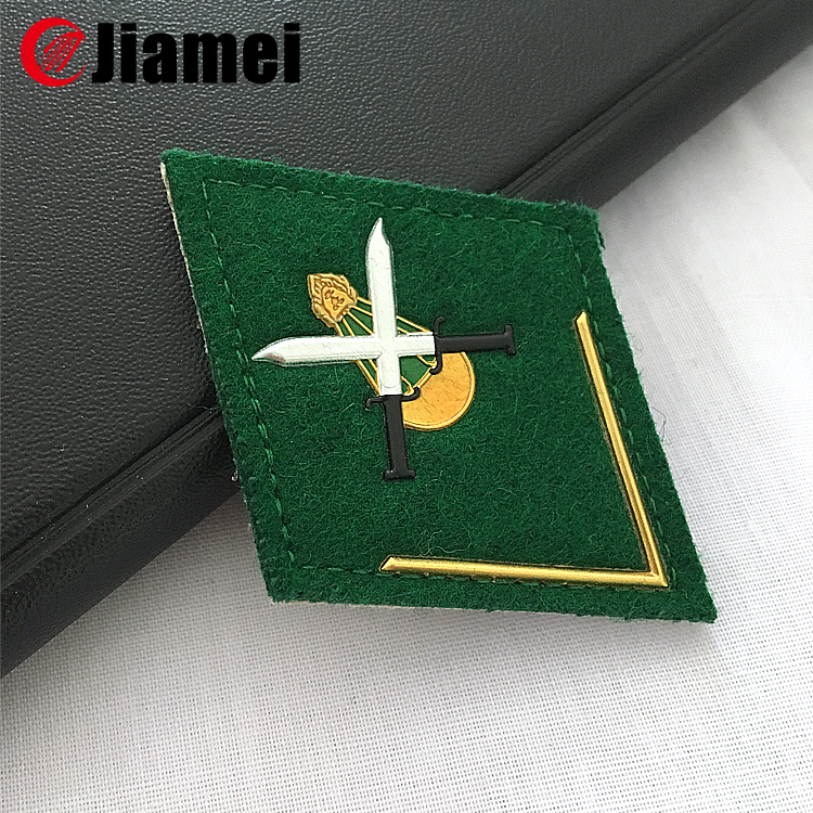 Custom metal military pins army enlisted rank insignia