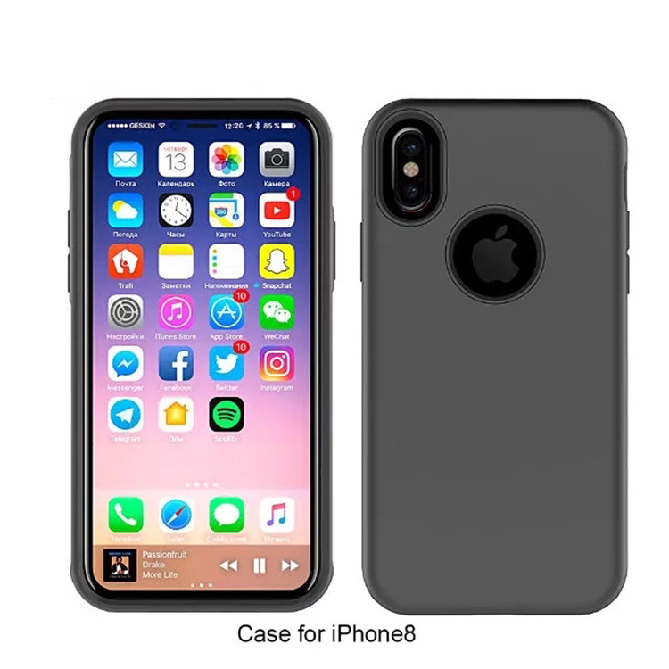 Mobile Phone Slim Accessories 2 in 1 Case Covers for iPhone 8