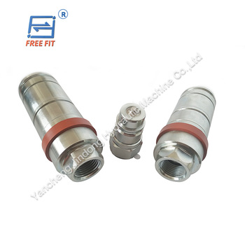 China manufacturer 3CFPV hydraulic quick couplings