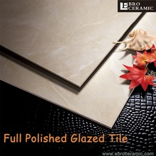 Factory Supply Wholesale Price full polished glazed flooring tile ceramic 300x600mm 600x600mm 66BM01P