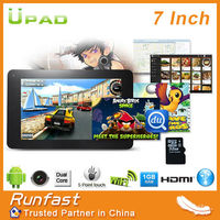 "2013 hottest! Allwinner A20 dual core 7"" tablet pc android 4.2 tablet pc dual camera"