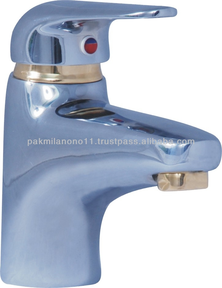 ONE HOLE WASH BASIN MIXER LEVER TYPE