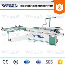 MJ6132 High precision 45 degree panel saw with altendorf sliding table