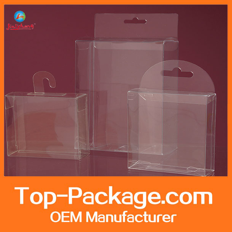 Free sample custom clear transparent acetate box plastic packaging box