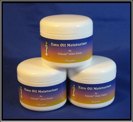 Moisturiser 3 X 100gm With Emu Oil (Talyala) Anti-Aging