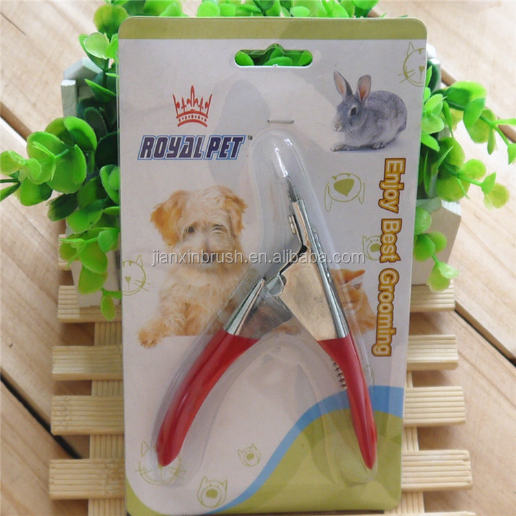 2016 Nail Use careful clipper dog stainless steel pet nail clipper accessories