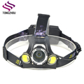 Super Bright LED Head Torch, 6000 Lumens Waterproof Headlight with 4 Brightness Modes