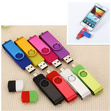 Swivel otg usb 2.0 16gb flash drive flash memory usb